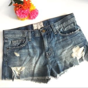 Current/Elliott The Boyfriend Short Size 26